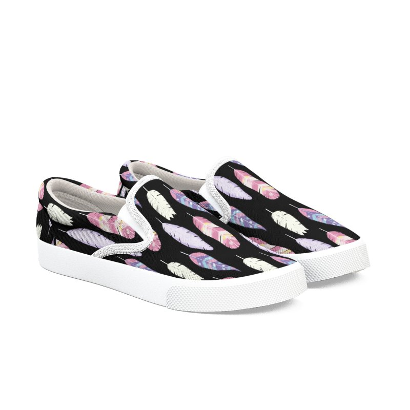 Feathers Women's Slip-On Shoes by Hello Siyi