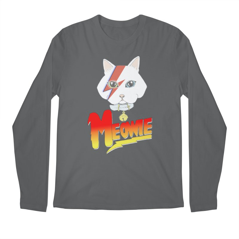 Meowie Men's Longsleeve T-Shirt by Hello Siyi