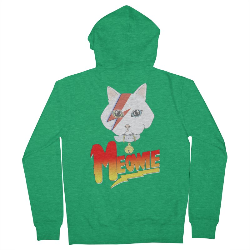 Meowie Men's Zip-Up Hoody by Hello Siyi
