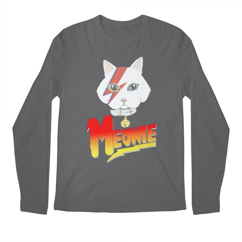 Meowie Men's Longsleeve T-Shirt by Hello Siyi