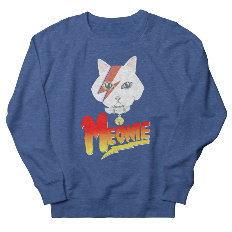 Meowie Men's Sweatshirt by Hello Siyi