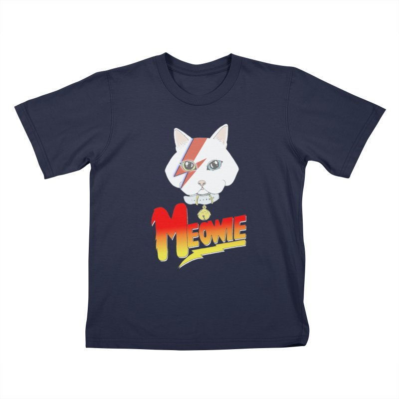 Meowie Kids T-Shirt by Hello Siyi