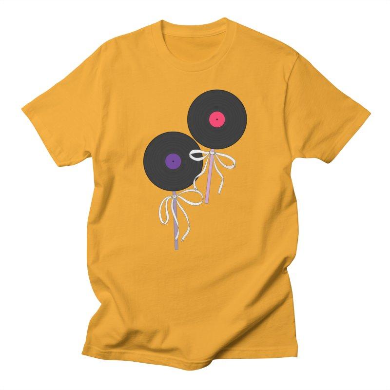 Vinyl Lollipops Men's T-Shirt by Hello Siyi