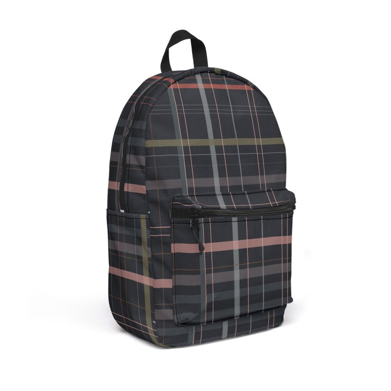 A very gloomy plaid Accessories Backpack Bag by Hello Siyi