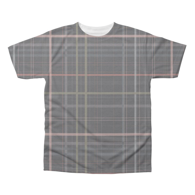 A very gloomy plaid Men's Triblend All Over Print by Hello Siyi