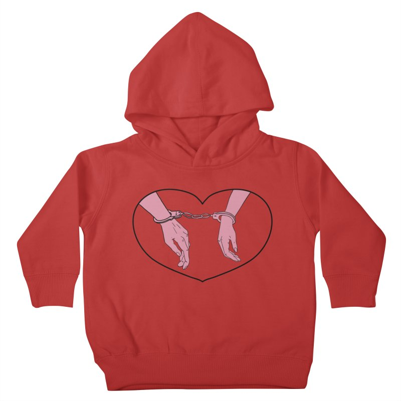 Stuck Together Kids Toddler Pullover Hoody by Hello Siyi