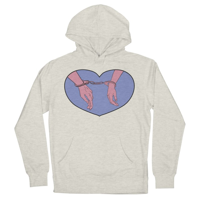 Stuck Together Men's French Terry Pullover Hoody by Hello Siyi