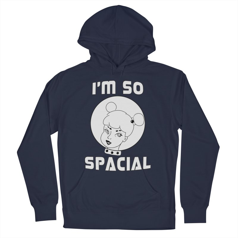 I'm so spacial (gray version) Men's Pullover Hoody by Hello Siyi