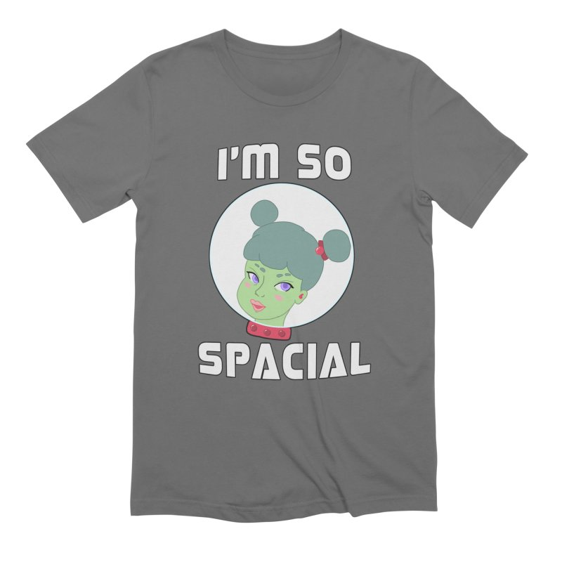I'm so spacial (color version) Men's T-Shirt by Hello Siyi
