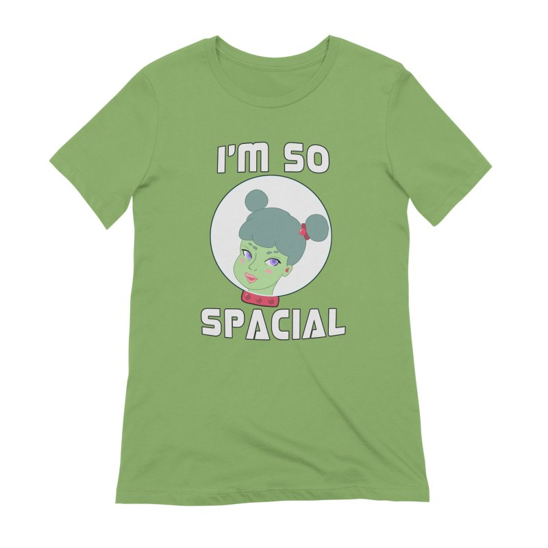I'm so spacial (color version) Women's Extra Soft T-Shirt by Hello Siyi