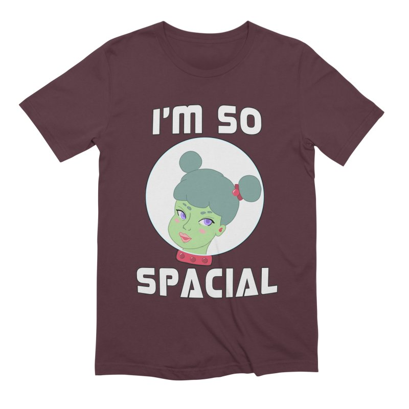 I'm so spacial (color version) Men's Extra Soft T-Shirt by Hello Siyi