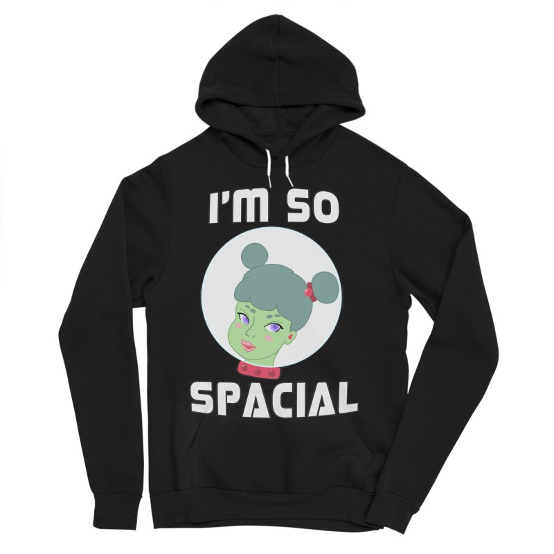 I'm so spacial (color version) Women's Sponge Fleece Pullover Hoody by Hello Siyi