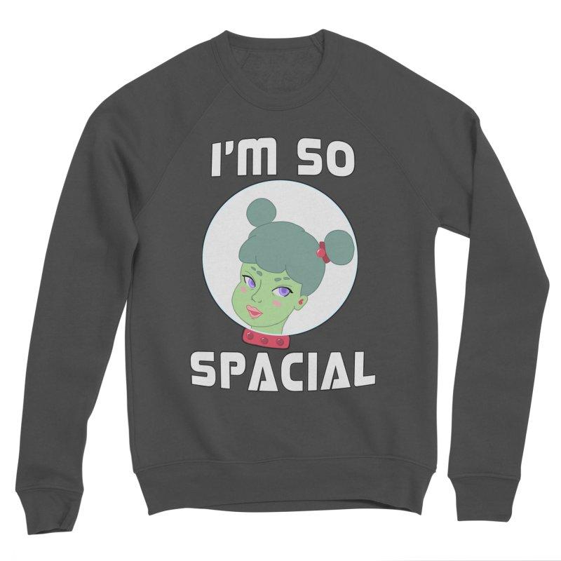 I'm so spacial (color version) Men's Sponge Fleece Sweatshirt by Hello Siyi