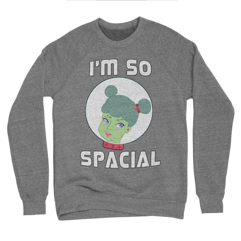 I'm so spacial (color version) Women's Sponge Fleece Sweatshirt by Hello Siyi
