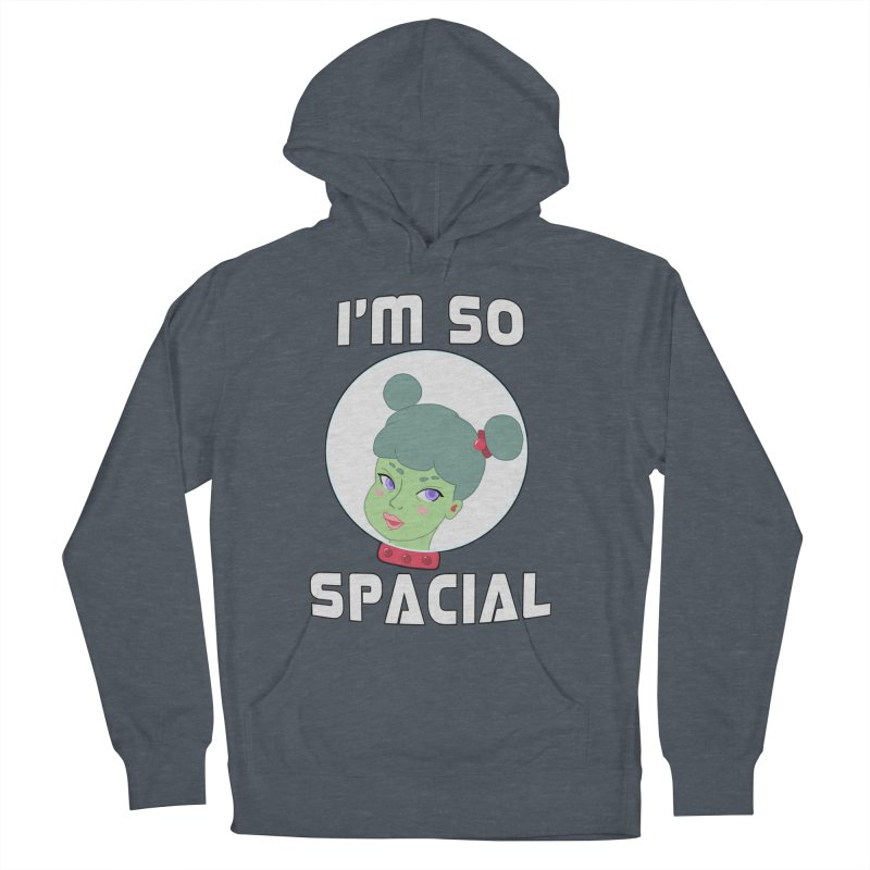 I'm so spacial (color version) Men's Pullover Hoody by Hello Siyi