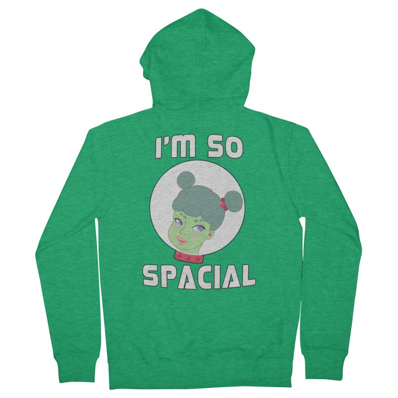I'm so spacial (color version) Men's Zip-Up Hoody by Hello Siyi