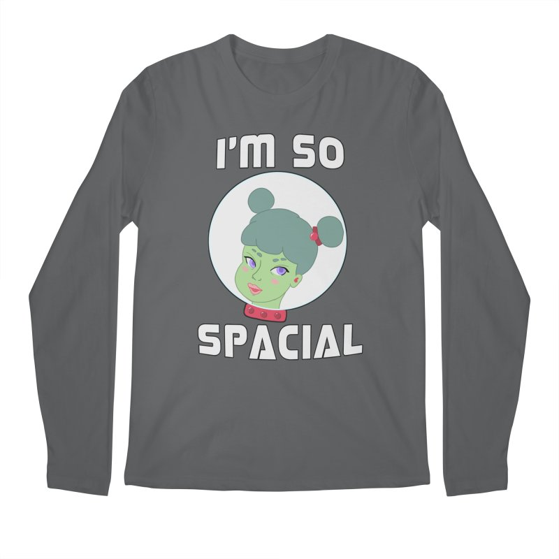 I'm so spacial (color version) Men's Longsleeve T-Shirt by Hello Siyi