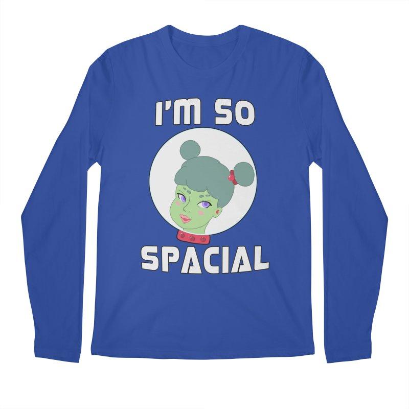 I'm so spacial (color version) Men's Regular Longsleeve T-Shirt by Hello Siyi