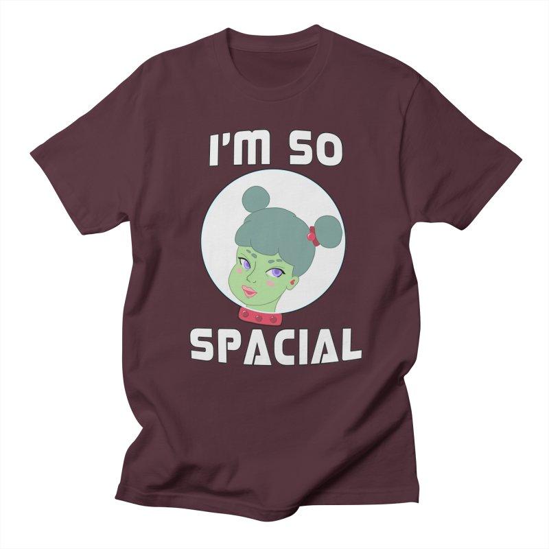I'm so spacial (color version) Men's T-Shirt by Hello Siyi
