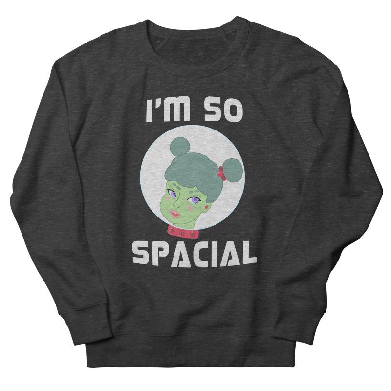 I'm so spacial (color version) Women's French Terry Sweatshirt by Hello Siyi