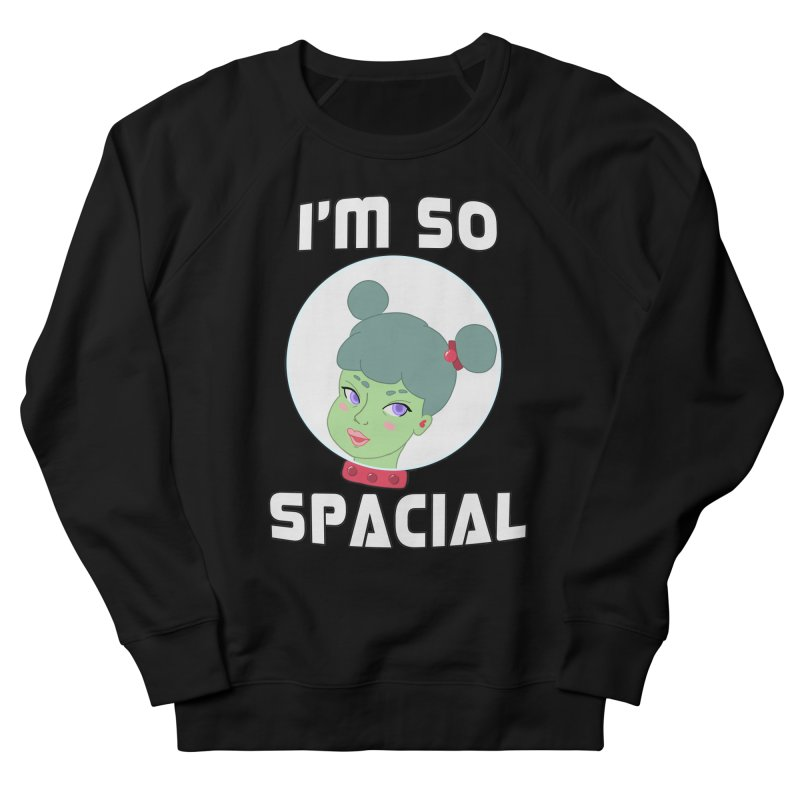 I'm so spacial (color version) Men's French Terry Sweatshirt by Hello Siyi