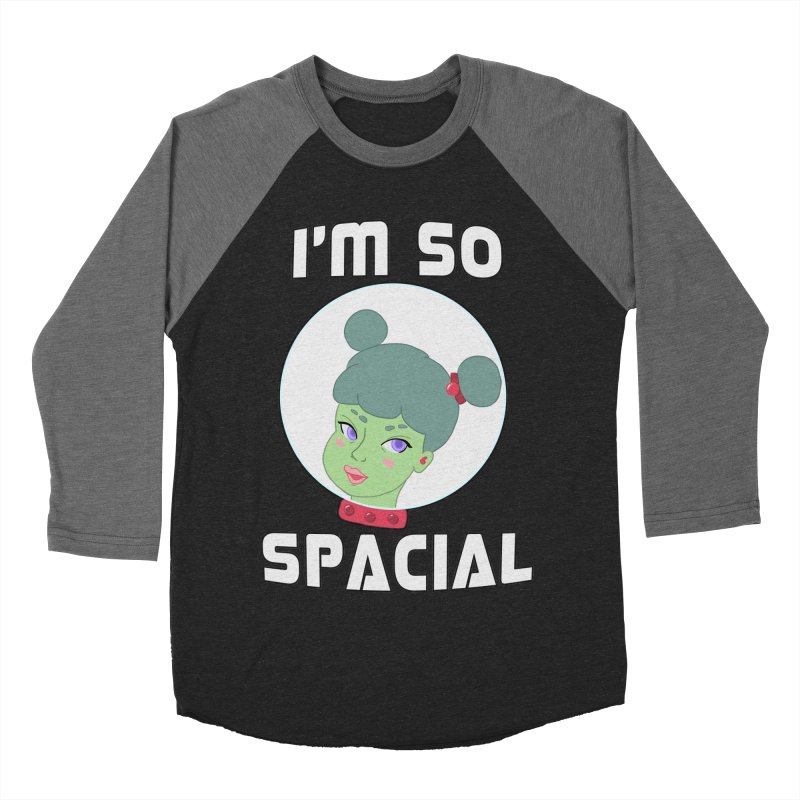 I'm so spacial (color version) Women's Baseball Triblend Longsleeve T-Shirt by Hello Siyi