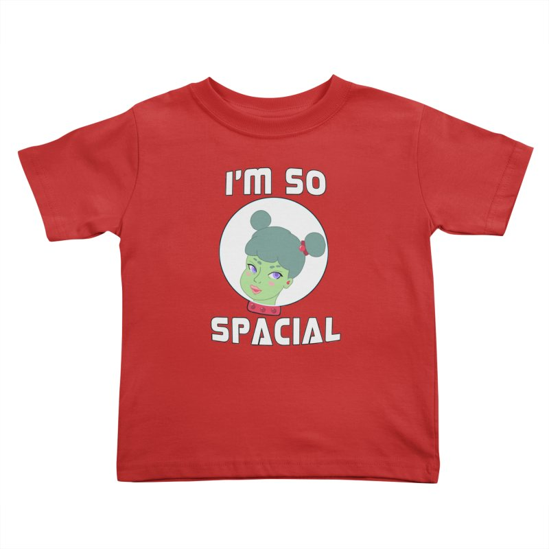 I'm so spacial (color version) Kids Toddler T-Shirt by Hello Siyi
