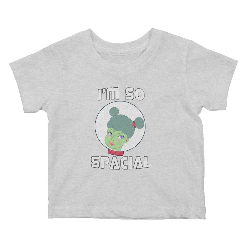 I'm so spacial (color version) Kids Baby T-Shirt by Hello Siyi