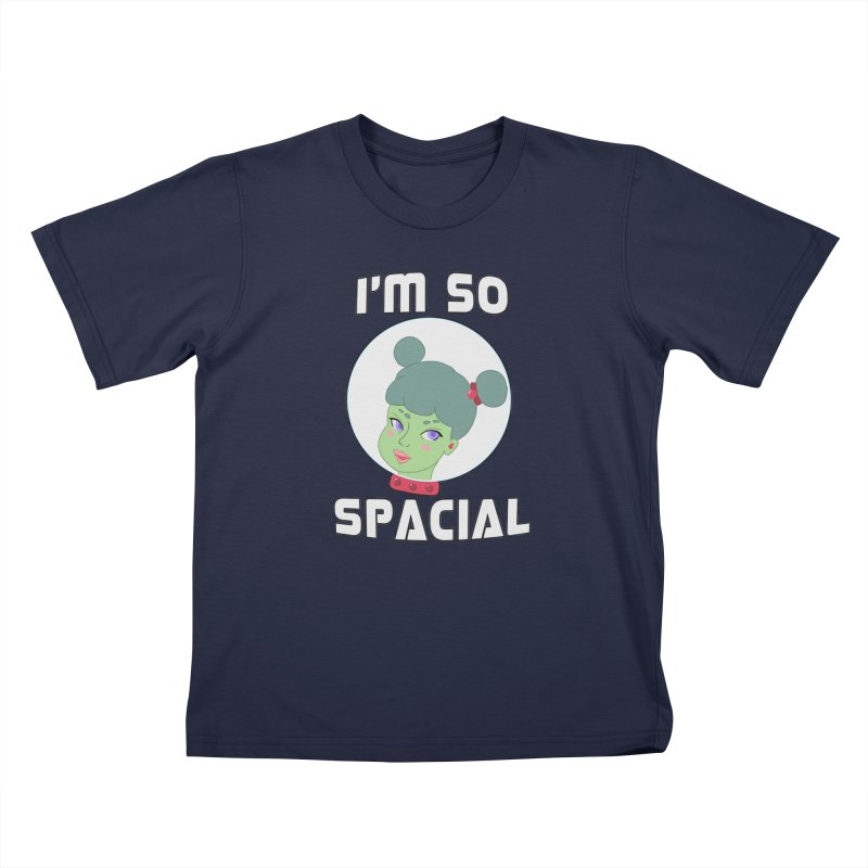 I'm so spacial (color version) Kids T-Shirt by Hello Siyi