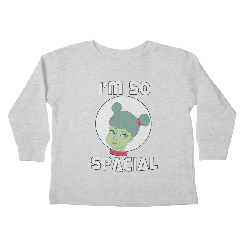 I'm so spacial (color version) Kids Toddler Longsleeve T-Shirt by Hello Siyi