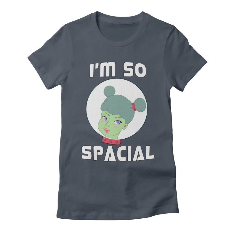 I'm so spacial (color version) Women's Fitted T-Shirt by Hello Siyi