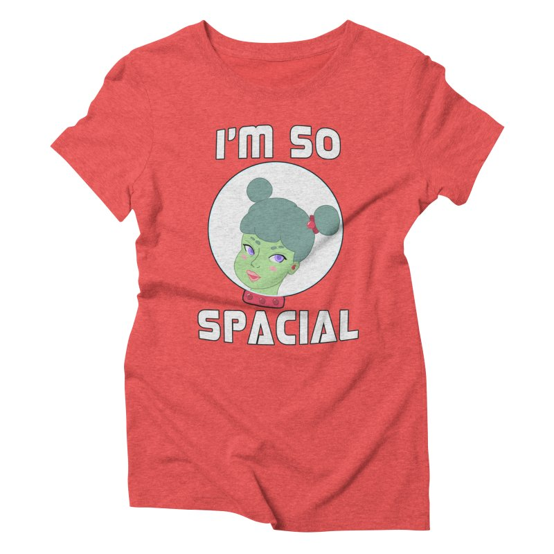 I'm so spacial (color version) Women's Triblend T-Shirt by Hello Siyi