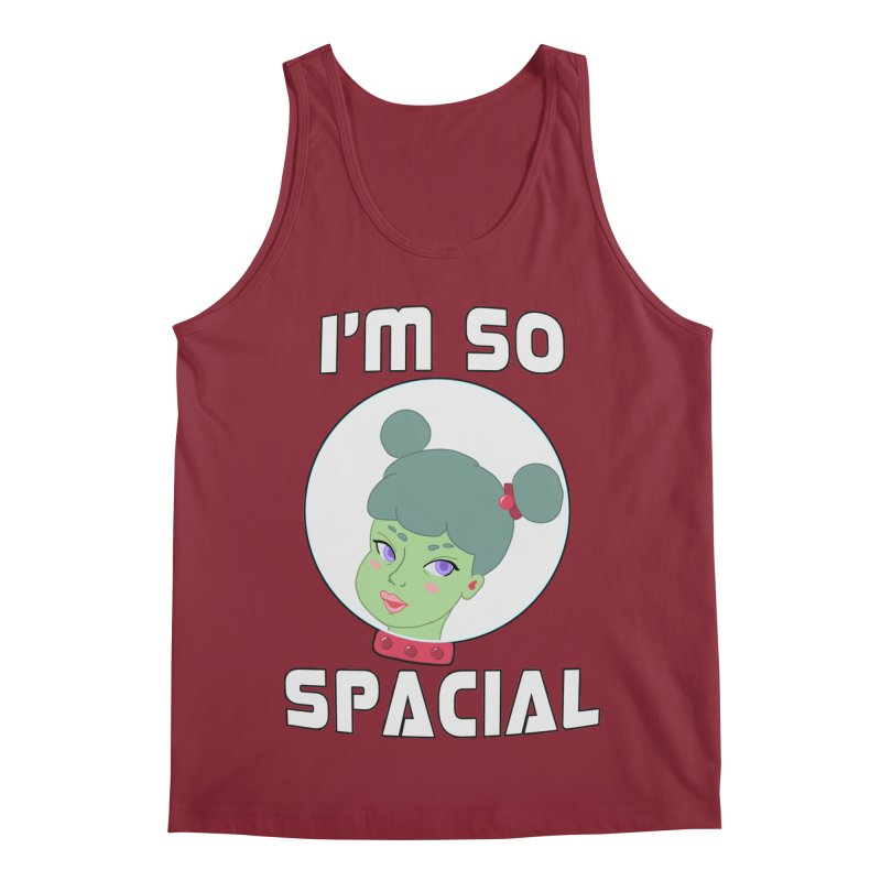 I'm so spacial (color version) Men's Tank by Hello Siyi