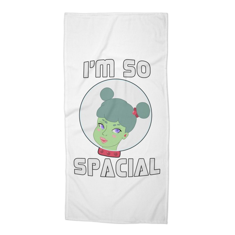 I'm so spacial (color version) Accessories Beach Towel by Hello Siyi