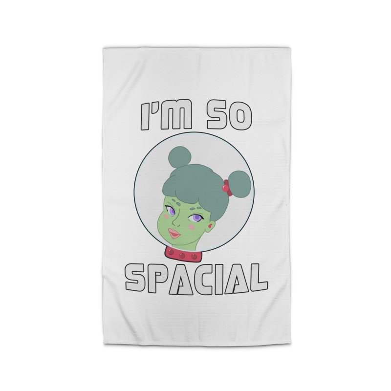 I'm so spacial (color version) Home Rug by Hello Siyi