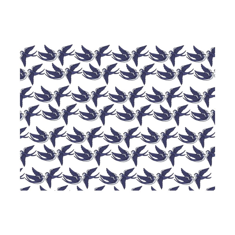 Swallows on white Men's Sweatshirt by Hello Siyi