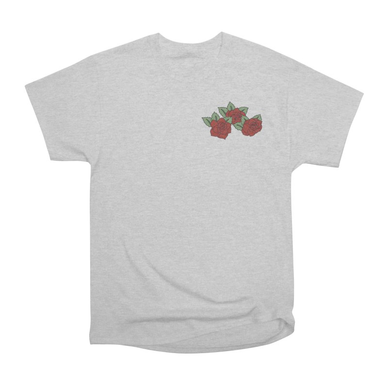 Bloody roses on black Women's Heavyweight Unisex T-Shirt by Hello Siyi