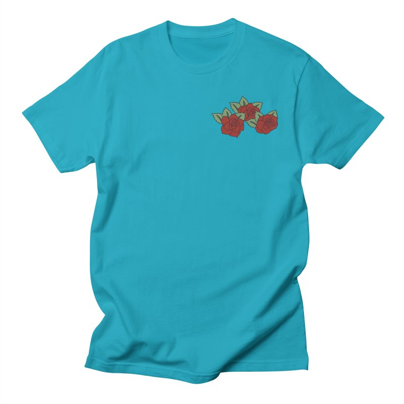 Bloody roses on black Women's Regular Unisex T-Shirt by Hello Siyi