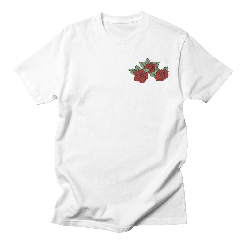 Bloody roses on black Men's Regular T-Shirt by Hello Siyi