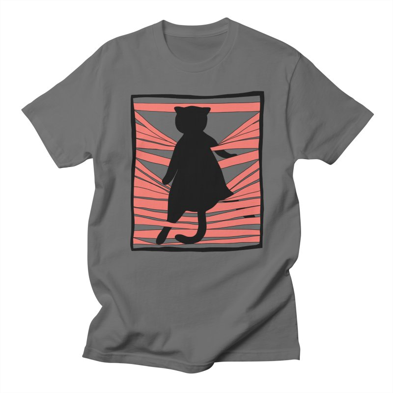 Cat playing with blinds Women's T-Shirt by Hello Siyi