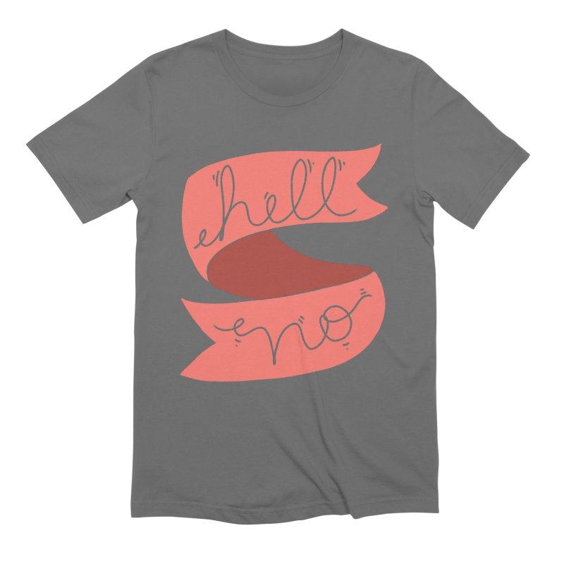 Hell no Men's T-Shirt by Hello Siyi