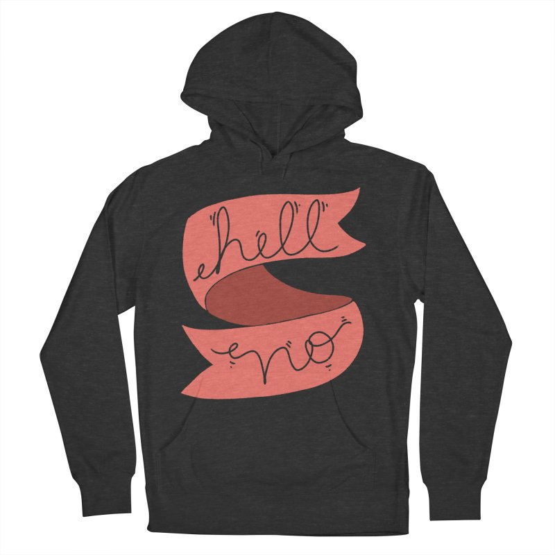 Hell no Men's Pullover Hoody by Hello Siyi