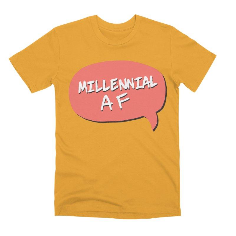Millennial AF Men's Premium T-Shirt by Hello Siyi