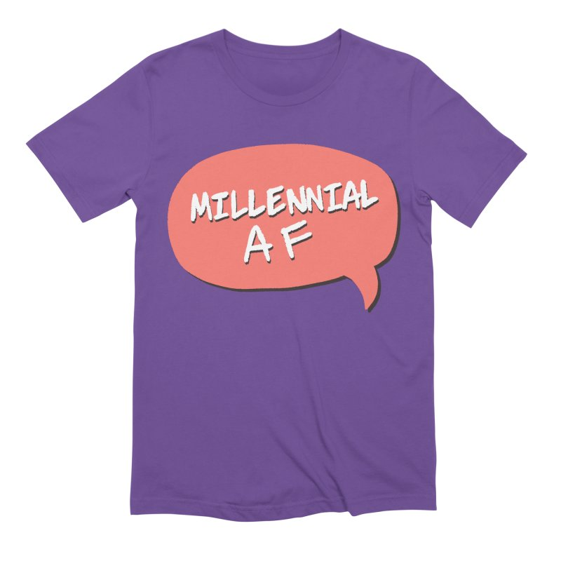 Millennial AF Men's Extra Soft T-Shirt by Hello Siyi