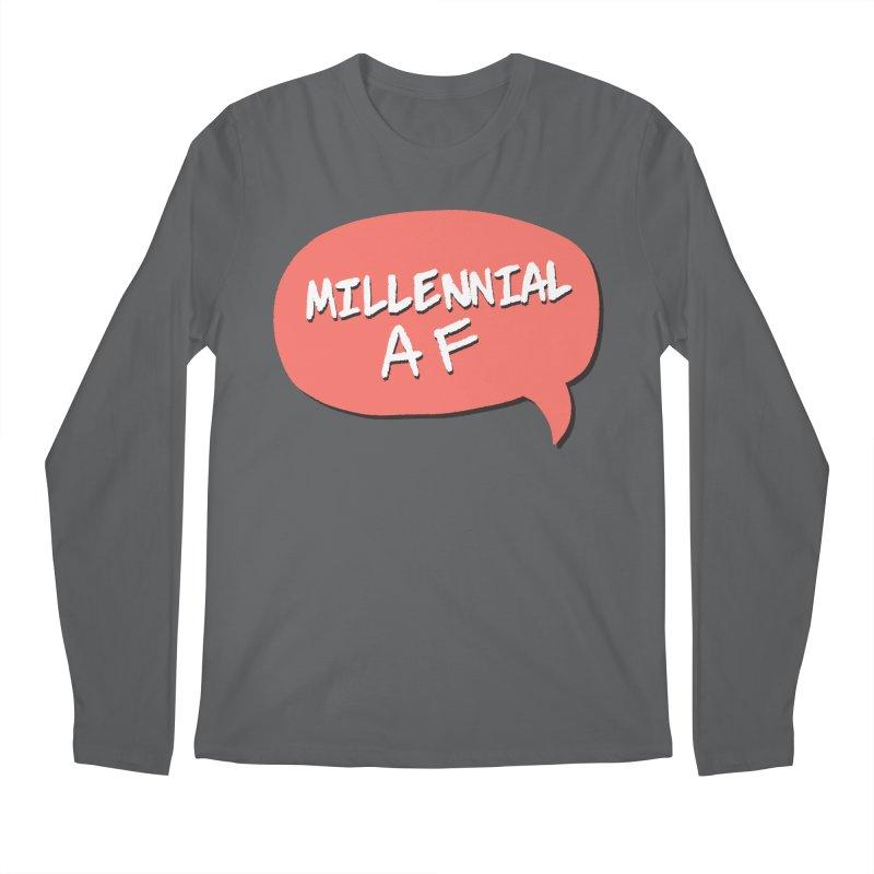 Millennial AF Men's Longsleeve T-Shirt by Hello Siyi