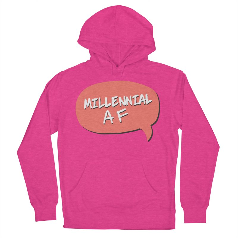 Millennial AF Men's French Terry Pullover Hoody by Hello Siyi