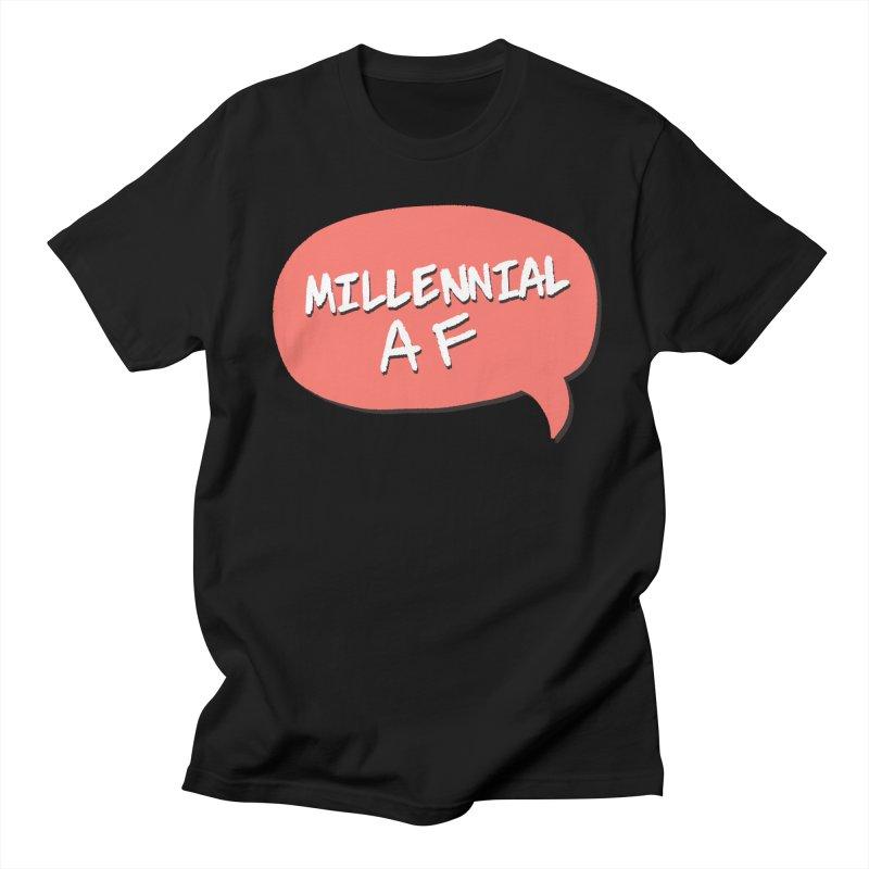 Millennial AF Men's Regular T-Shirt by Hello Siyi