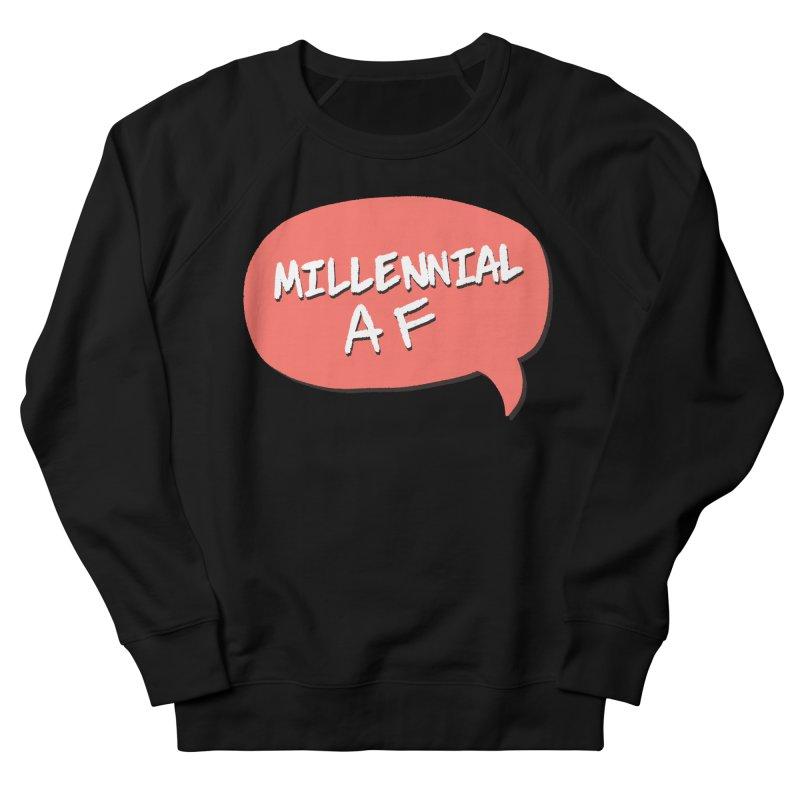 Millennial AF Men's French Terry Sweatshirt by Hello Siyi