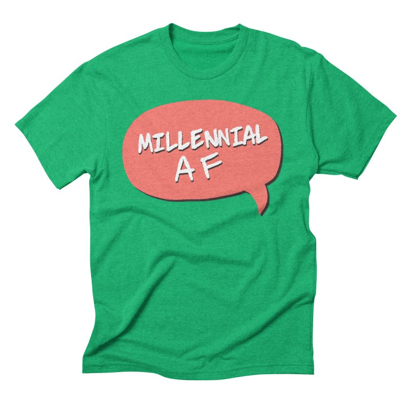 Millennial AF Men's Triblend T-Shirt by Hello Siyi