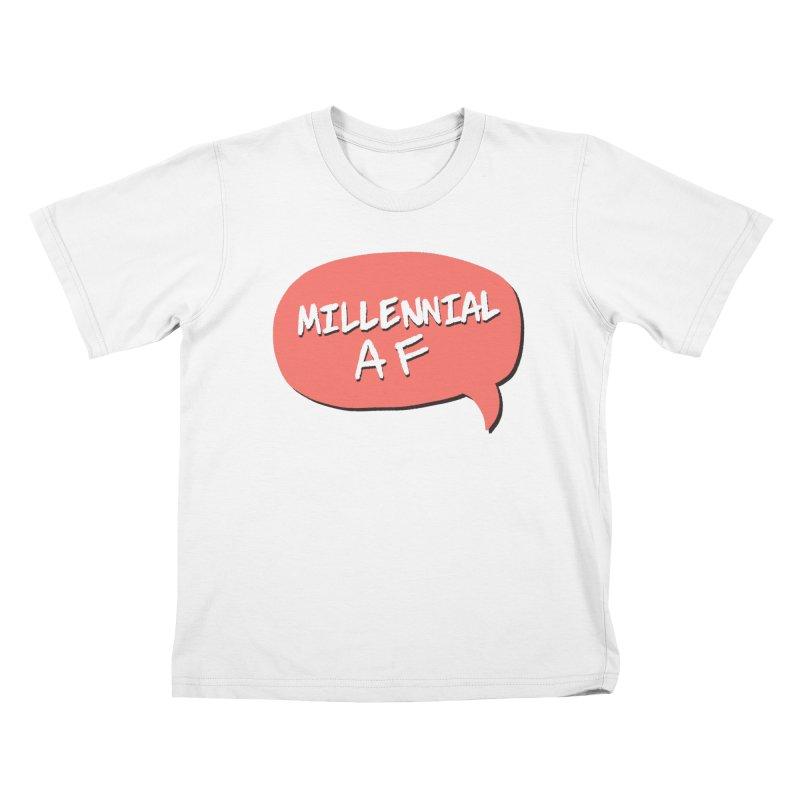 Millennial AF Kids T-Shirt by Hello Siyi